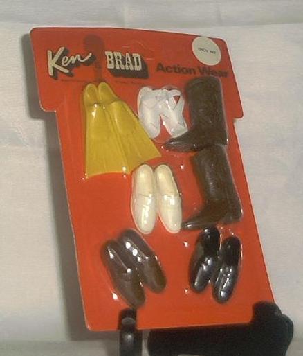"""Mattel Ken And Brad Action Wear """"Shoe In"""""""