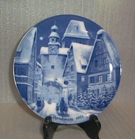 "1971 Berlin Design ""English"" Series Plate"
