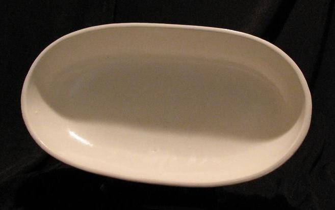 Redwing Pottery White Planter #835