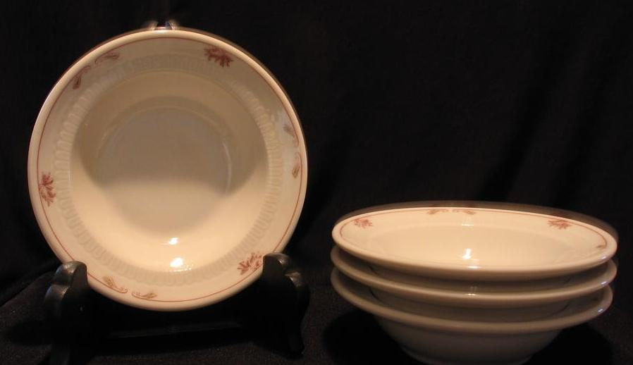 "Set Of Four ""Brentwood"" Syracuse China Sauce Or Fruit Bowls"