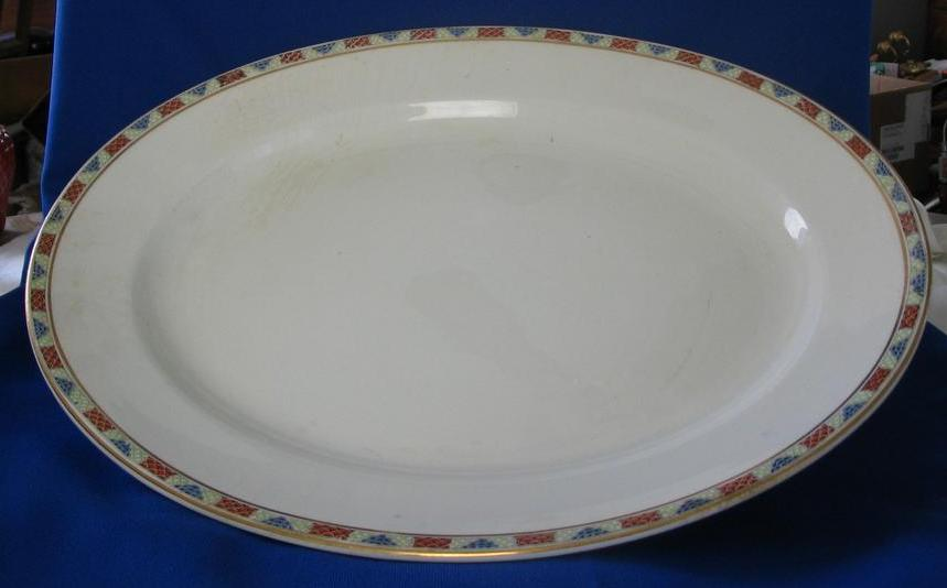 Large John Maddock & Sons Royal Vitreous Platter