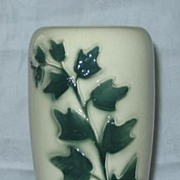 Pottery Vase With Ivy Decoration