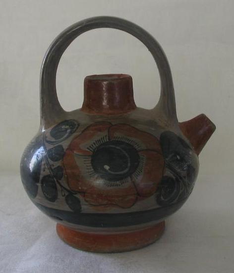 South West Influence Decorative Teapot