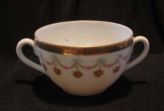 "Austrian Bouillon Cup In The ""Princess Louise"" Pattern"