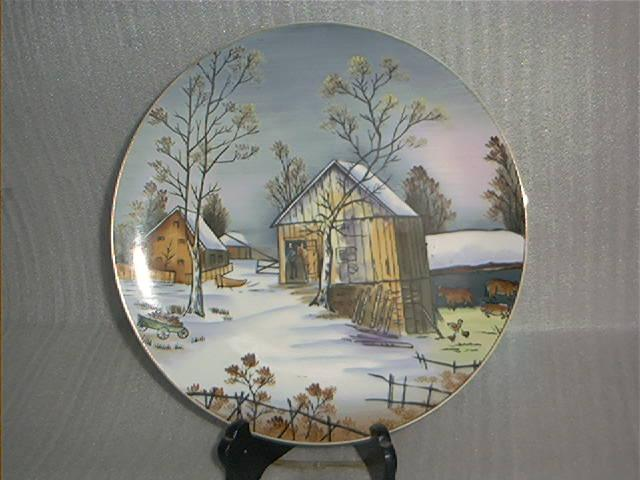 Hand Painted Norcrest Decorator Plate