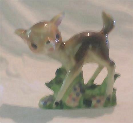 "Unauthorized ""Bambi"" Figurine Made In Japan"