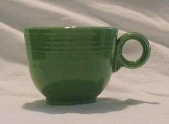 "Homer Laughlin Medium Green ""Fiesta"" Cup"