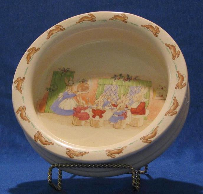 Royal Doulton Quot Bunnykins Quot Child S Cereal Bowl A Dream Remembered Ruby Lane