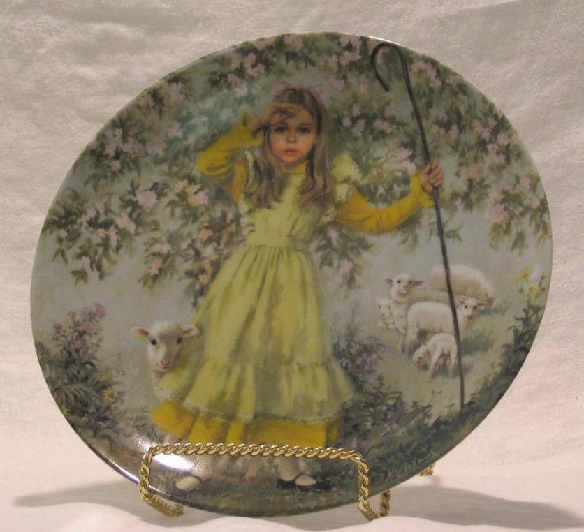 "Reco ""Little Bo Peep"" Collector Plate"