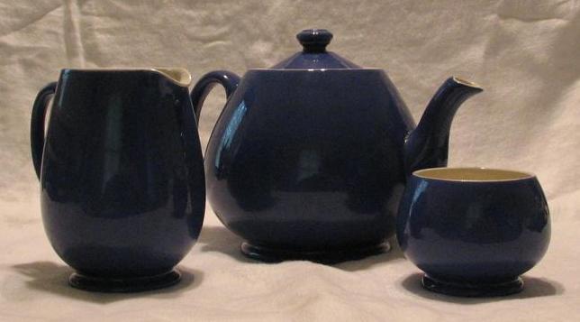 Moorcroft Three Piece Tea Set