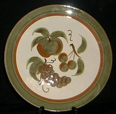 "Stangl Pottery ""Orchard Song"" Platter"