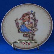 1976 Goebel Annual Hummel Christmas Plate