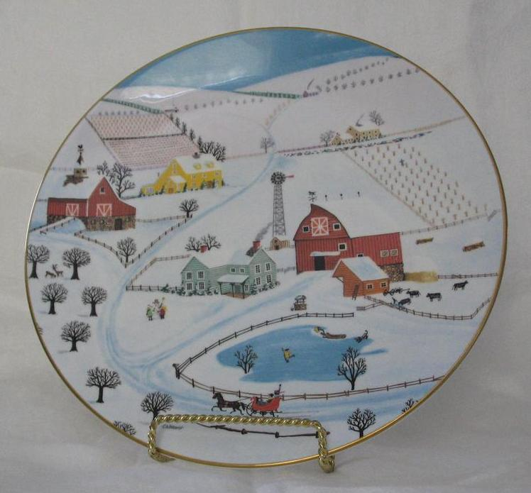 "Royal Doulton ""Sleigh Bells"" First Issue In Series"