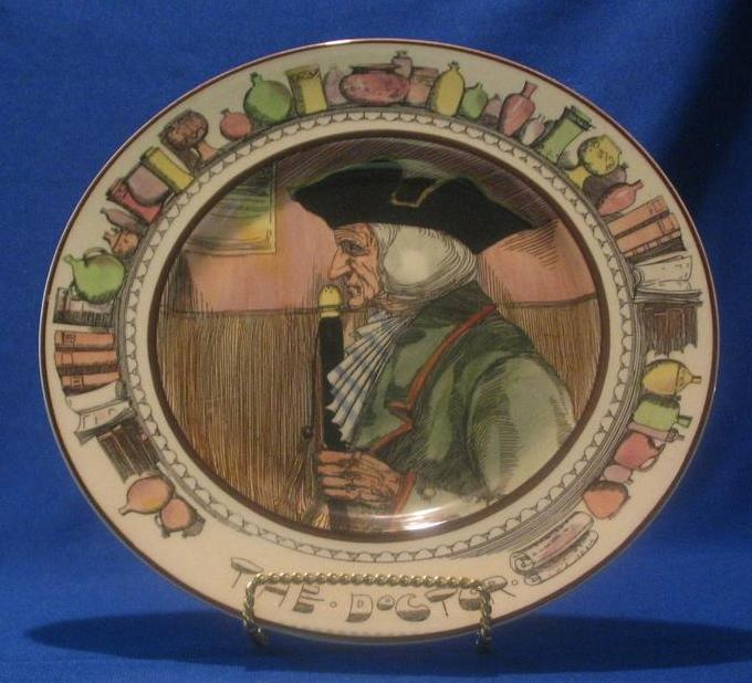 "Royal Doulton Plate Titled ""The Doctor"""