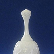 "Fenton ""Spanish Lace"" Silver Crest Bell"