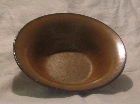 Fulper Pottery Flared Side Console Bowl