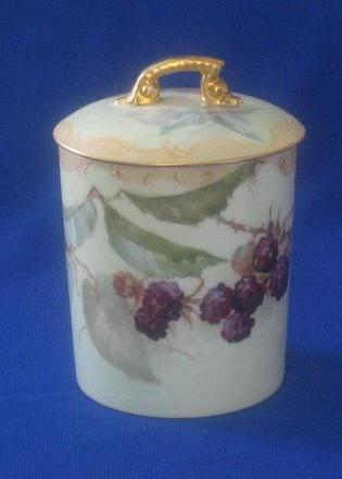 Tressemann & Vogt Porcelain Condensed Milk Or Jam Jar