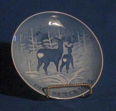 Bing & Grondahl 1965 Annual Christmas Plate