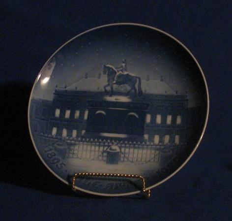 "Bing & Grondahl 1970 Plate Titled, ""The Royal Palace"""