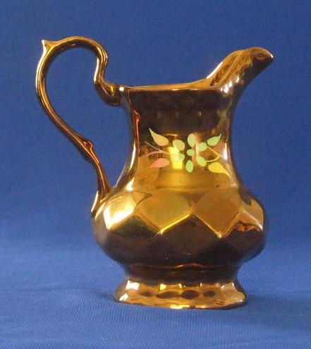 """Wade"" Copper Luster Milk Jug"