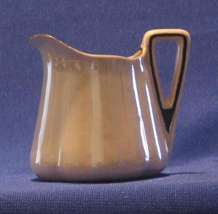 Mother Of Pearl Decorated Creamer