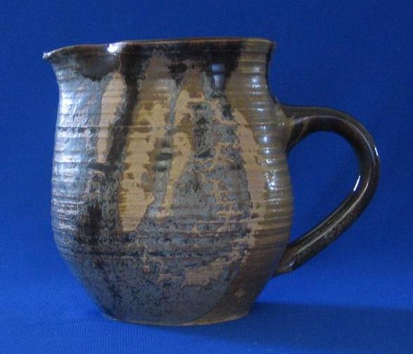 "Studio Art Pottery Pitcher Signed ""Levy"""