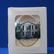 Constable Hall Christmas Ornament With Original Box
