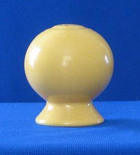 Homer Laughlin Single Yellow Fiesta Shaker