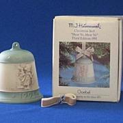 """Hear Ye, Hear Ye"" 1991 M. I. Hummel Christmas Bell"