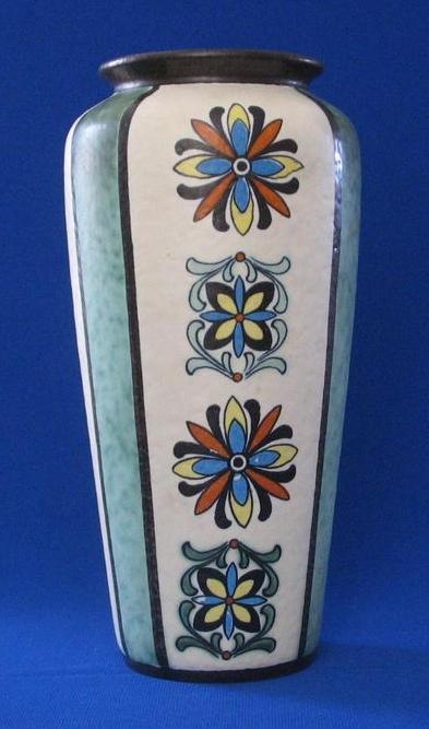 West German Vase By Jasba Keramik