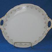 Jean Pouyat Limoges Handled Plate