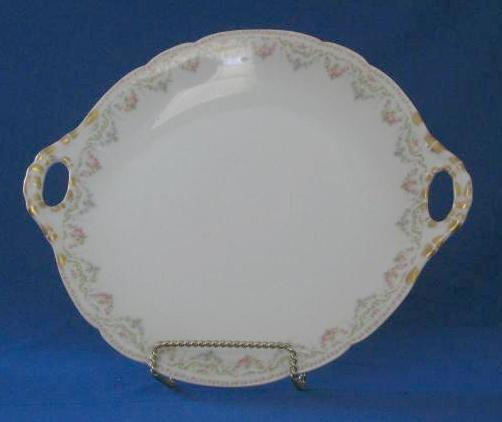 Jean Pouyat Limoges Handled Plate