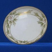 Noritake Hand Painted Porcelain Mint Dish