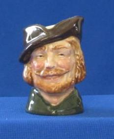 "Royal Doulton Miniature ""Robin Hood"" Character Jug"