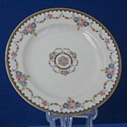 Four Theodore Haviland Limoges Plates