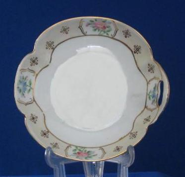 Handled Porcelain Nippon Candy Dish