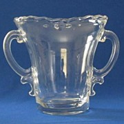 Fostoria Century Pattern Two Handled Vase