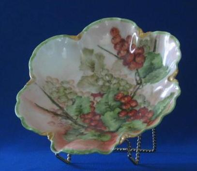 Haviland Currant Hand Decorated Bowl