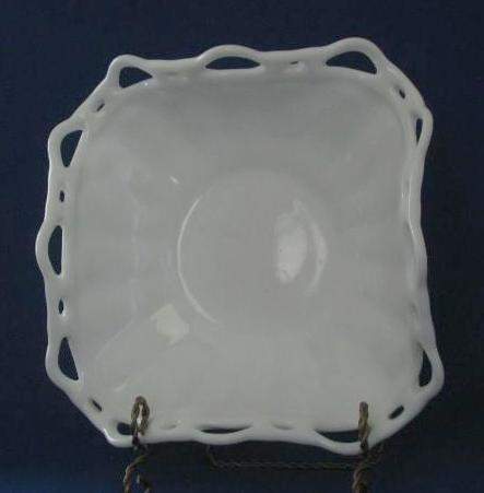Unmarked Milk Glass Center Bowl