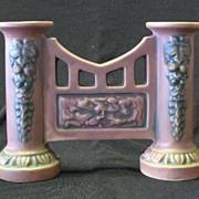 "Roseville Pottery ""Florentine"" Pattern Gate Vase"
