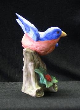 Lefton China Bluebird Figurine