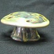 Fulper Pottery Mushroom Shaped Flower Frog