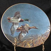 "W. S. George Collector Plate Titled, ""Mallards"""