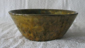 Bennington Pottery Flared Sided Bowl