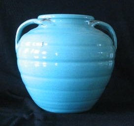 Unmarked Split Handled Apothecary Vase