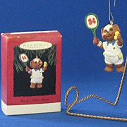 "Hallmark Keepsake Ornament Titled, ""Practice Makes Perfect"""