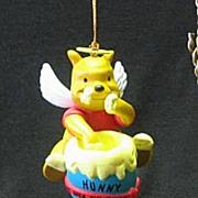 Disney Winnie The Pooh Christmas Ornament By Grolier