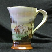Royal Bayreuth Scenic Double Handled Pitcher