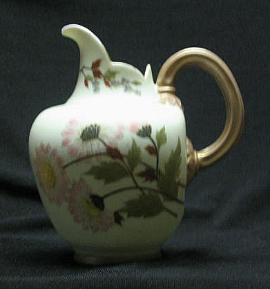 Royal Rudolstadt Hand Decorated Jug