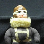 Raggy-Doodle U. S. Parachute Trooper With Box